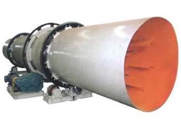 豫龙厂供2200×18000矿粉烘干机