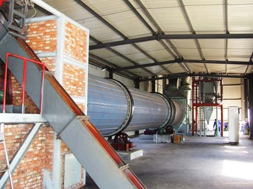 豫龙厂供3000×20000转筒烘干机