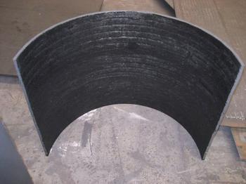 双金属耐磨复合衬板应用行业解析