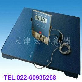 上海10吨防爆地磅秤10吨1X2m带打印地磅秤价格