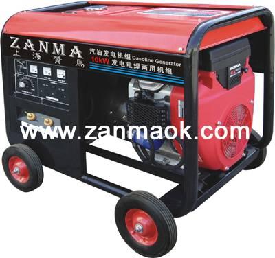 300A电启动汽油发电电焊两用机组-上海赞马工厂直销