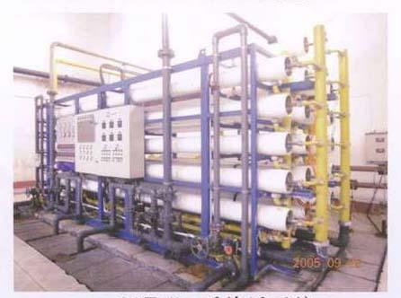 反渗透加电去离子装置纯水处理系统(RO+EDI)