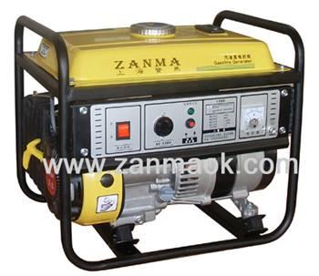 上海赞马1kW四冲程154动力家用汽油发电机组厂家直销