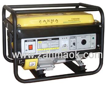 上海赞马2kW四冲程170动力家用汽油发电机组
