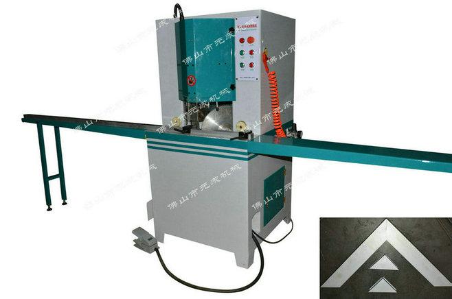 木材45度切角机 铝材双端45度切角机 双刀45度去角机