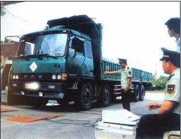 西德力无线触摸屏汽车测重仪 陕西公路局专用