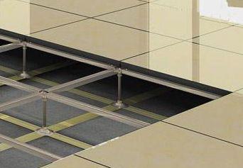 防静电全钢通风活动地板具体安装步骤