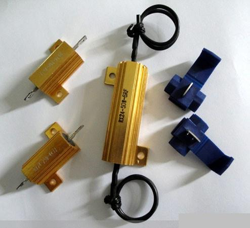 LED汽车尾灯铝壳电阻