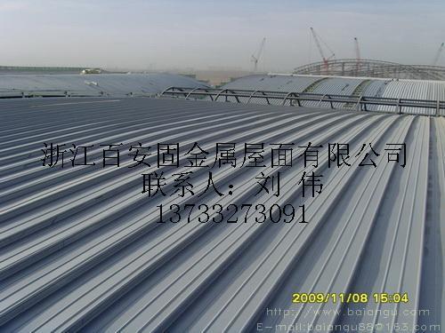 钛锌板金属屋面公司