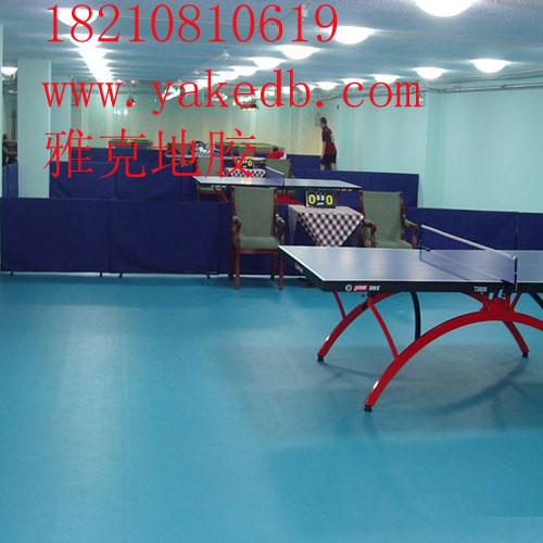 乒乓球比赛标准塑胶地板哪里有 乒乓球室环保防滑防火抗老化地胶垫