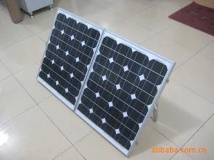 120w单晶多晶硅太阳能电池板 太阳能发电系统