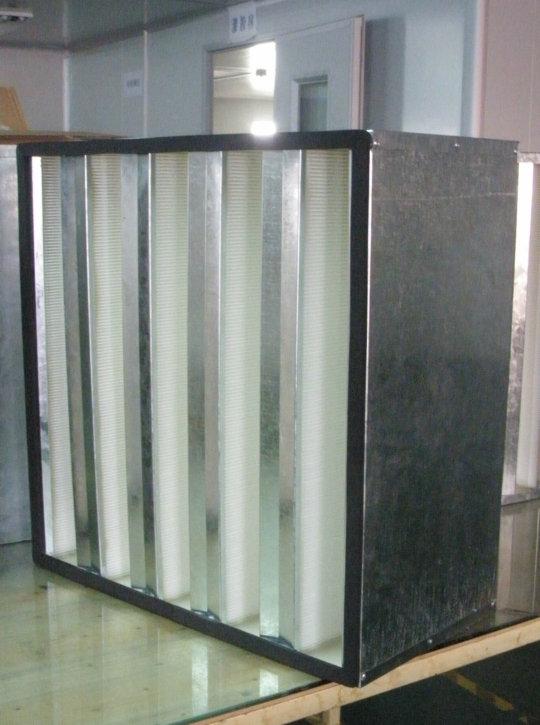 组合式高效过滤、低硼V型过滤器