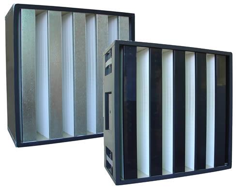 长沙高效过滤器、长沙高效过滤器生产厂家、长沙低硼V型过滤器