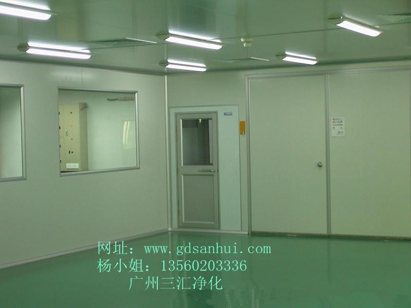广州 净化实验室装修、光学簿膜洁净厂房