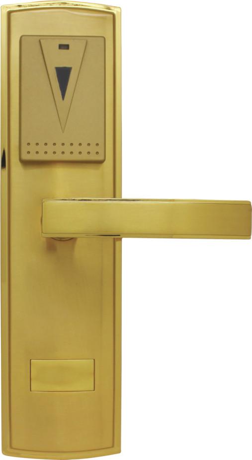 星级酒店锁,宾馆锁,公寓锁---锌合金一体铸造