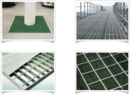 广州网格板 白格板 格栅板 水沟盖板机械设备走道平台 楼梯踏步板