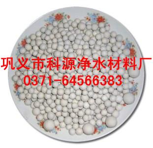 正定县电厂循环水处理瓷砂滤料科源厂家现货