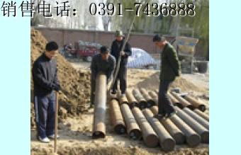 外加电流用:工厂预制,预包装钛+铱贵金属氧化物深井阳极体