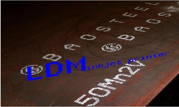 钢板专用大字符喷码机