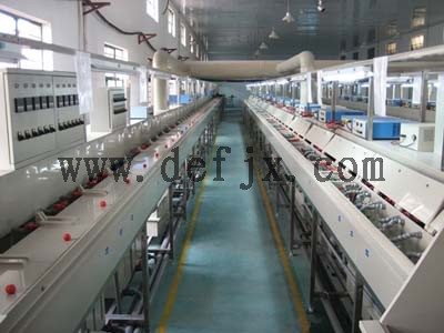 小型电镀设备 连续镀电镀生产线 深圳德尔福精密机械设备有限公司
