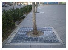 热浸镀锌的防腐性钢格板www.tiananda.net,钢格板,