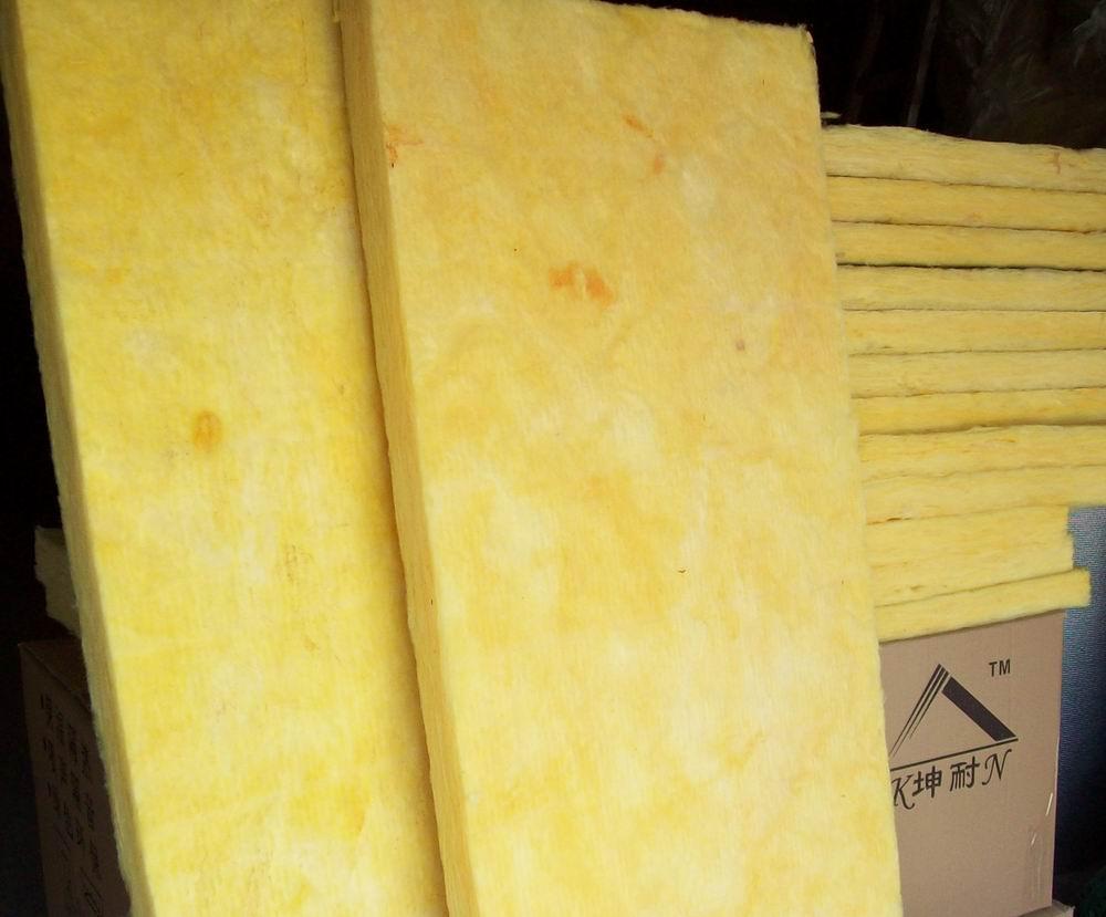 榆林玻璃纤维吸音板 墙体隔音棉 软包芯材吸音棉 防火纤维棉