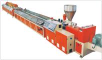 防水石木塑地板设备与技术