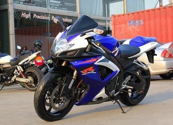 2008铃木GSX R600 摩托车高清图片