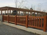 仿石仿木护栏|栏杆|仿石仿木景观摆件