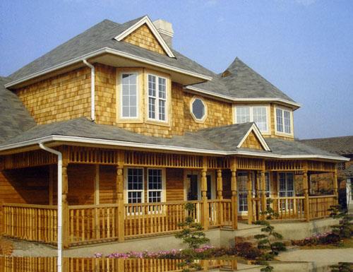青岛木屋木别墅设计施工