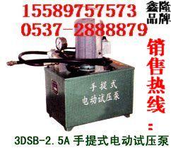 电动试压泵厂家   3DSB-2.5电动试压泵