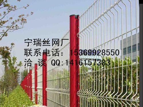 防盗护栏网-桃型柱护栏网-高档小区围栏网