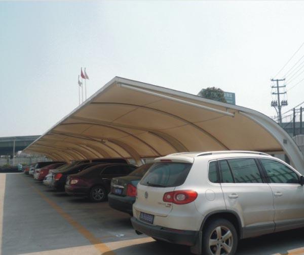 供应膜结构车棚-凯飞膜结构车棚-专业杭州车棚厂家