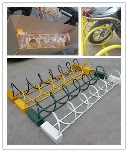广州安赢专业生产螺旋式自行车停车架、存放架