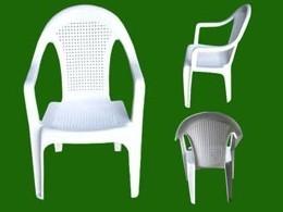 休闲椅模具 餐椅模具 PP塑料椅子模具