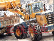 生产工程机械轮胎保护链