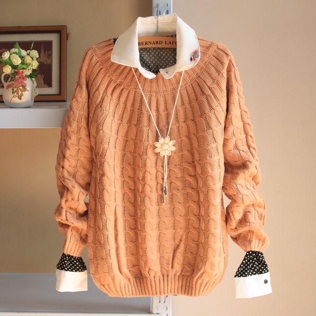 生产加工各类毛衣 羊毛衫 针织衫 套头毛衣 韩版毛衣 羊毛背.