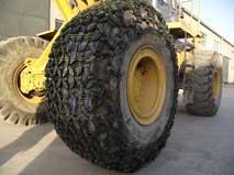 亚狼直销各型号铲运机,重汽轮胎保护链