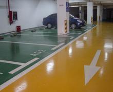 深圳环氧树脂薄涂地坪 停车场地坪工程工艺