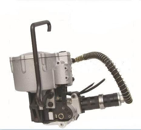 气动式打组合式钢带打包机,一体式钢带打包机