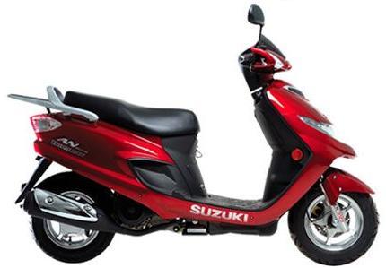 铃木海王星AN125踏板摩托车