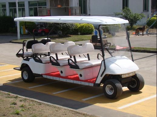 八座高尔夫球车