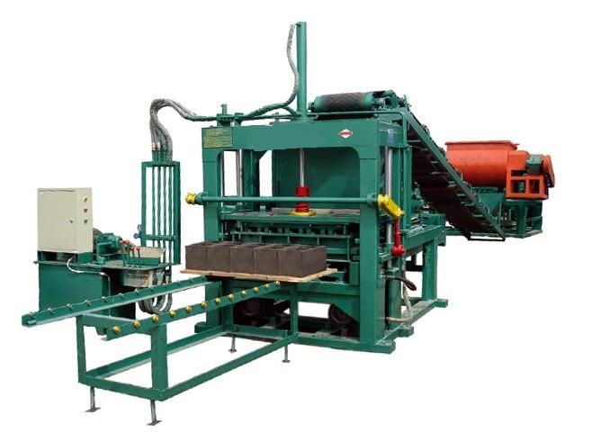 东阳机械设备水泥垫块真空砖机