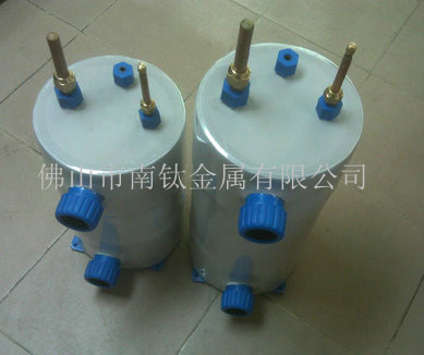 南钛高效泳池热泵换热器