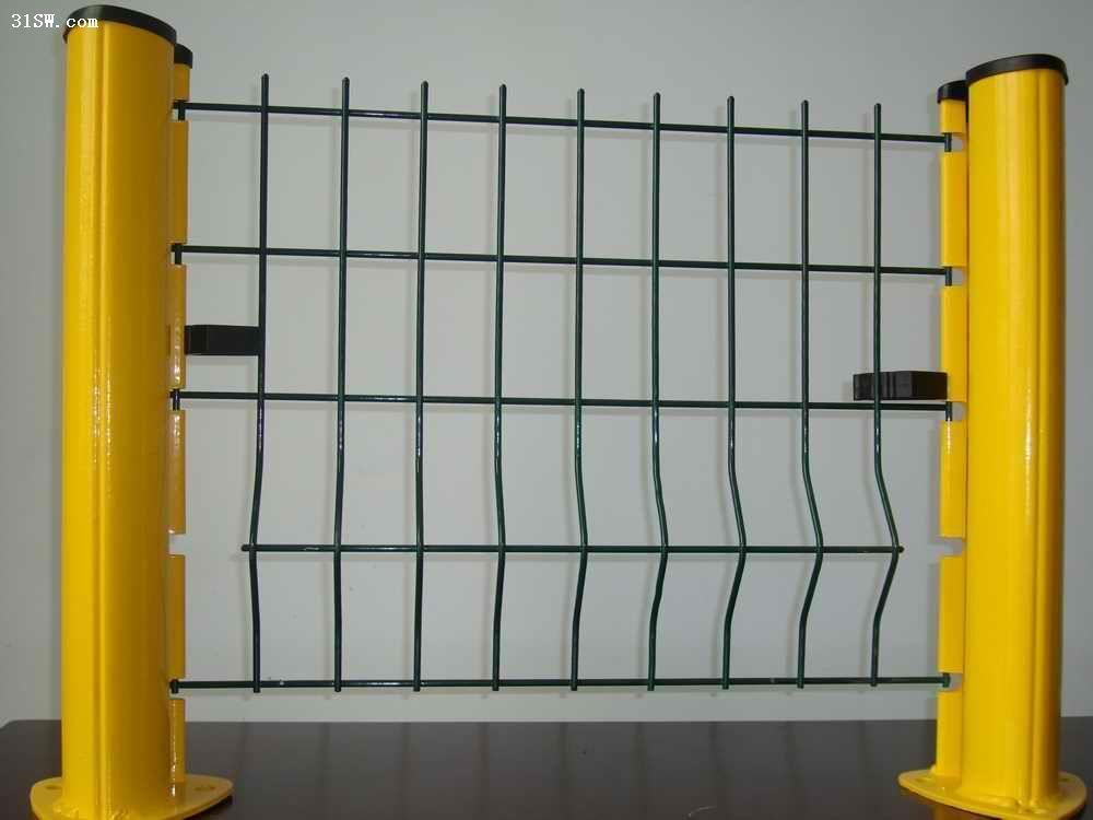 桃型柱护栏网|桃型柱围栏网