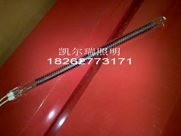 单端引线碳纤维石英加热管