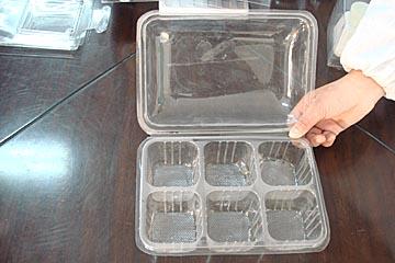 上海吸塑厂PET通明月饼盒 蛋糕塑料底托PS快餐盒 御兴包装