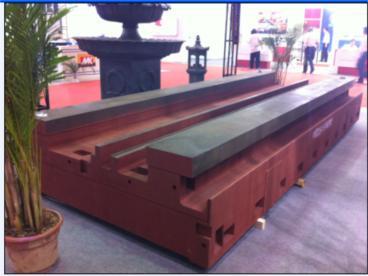 大型机床铸件 床身铸件 灰铁铸件