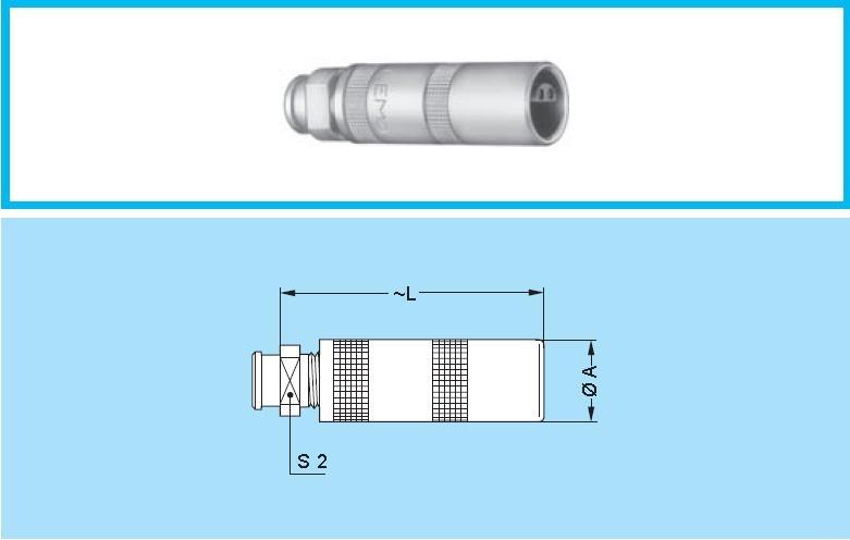FFA 00 1 S同轴连接器 极性定位航空插头