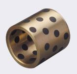 镶嵌固体自润滑轴承 铜套